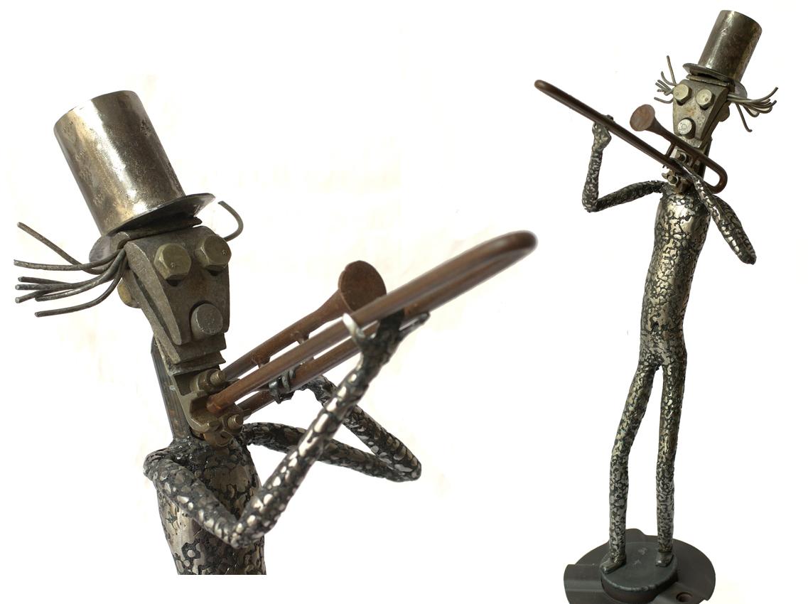 joueur de trombone-diptique